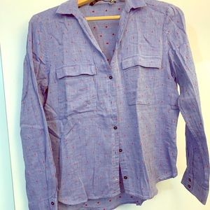 Zara Button Up Dress Shirt, Size Small